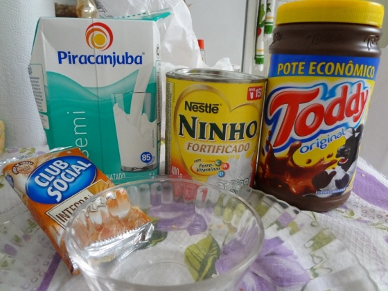 Ingredientes Club Social com Leite Ninho