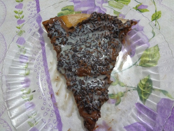 Pizza Doce de Brigadeiro