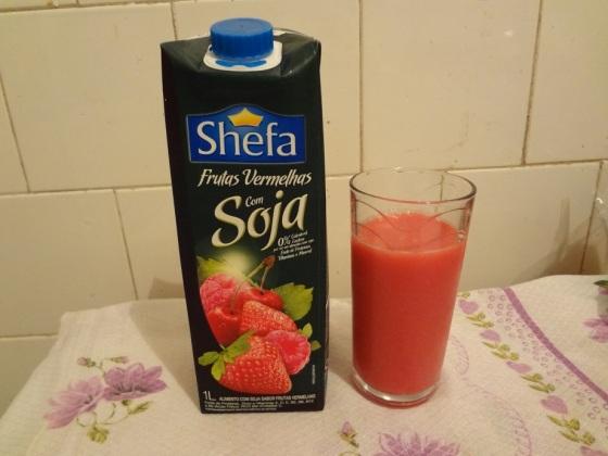 Suco Shefa Frutas Vermelhas com Soja