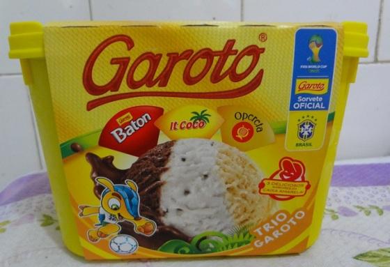 Sorvete Trio Garoto