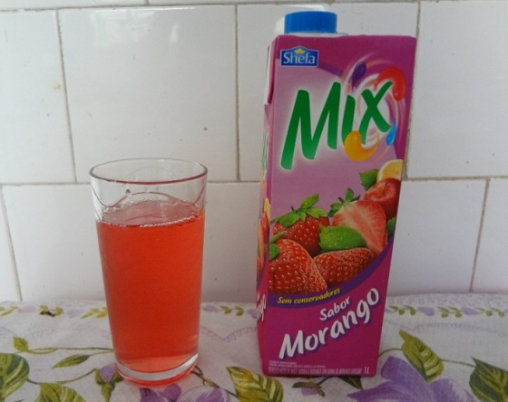 Suco Shefa Morango