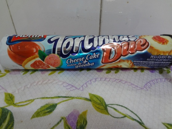 tortinha Cheesecake Goiabada
