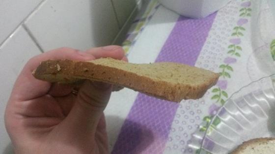 Pão Nutrella Iogurte Cenoura e Mel