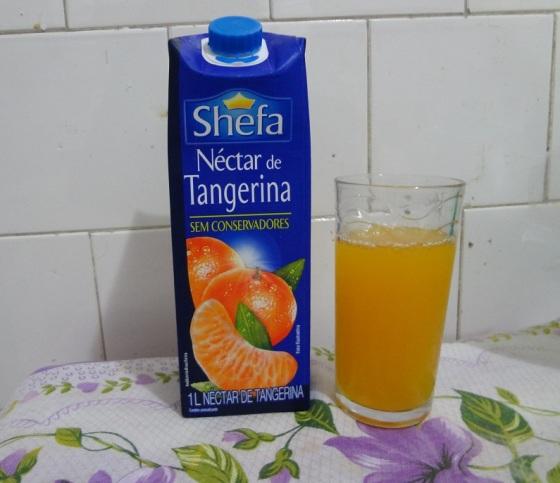 Suco Nectar de Tangerina Shefa