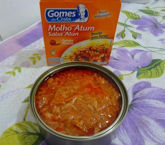 Molho Com Atum Tomate Picante