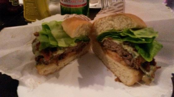 X Salada Bacon com Gorgonzola