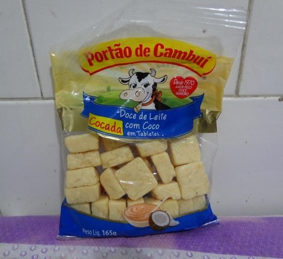 Doce De Leite Com Coco Cocada Portao Cambui