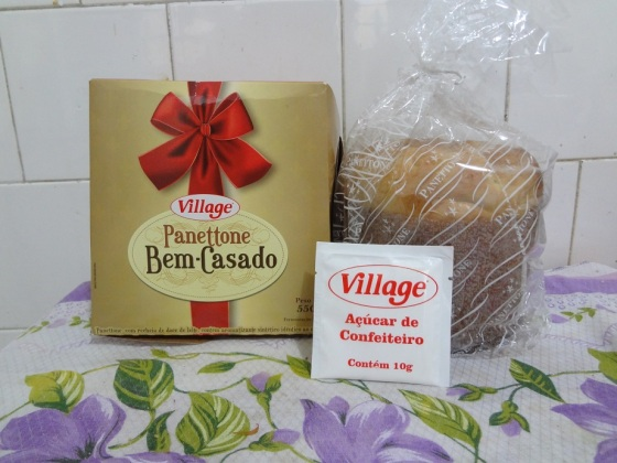 Panetone Bem Casado Village