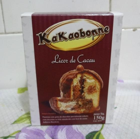 Mini Panetone Licor De Cacau KakaoBonne