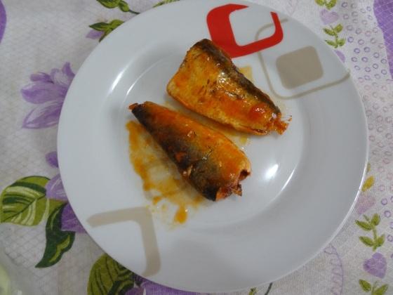 Salada de Repolho Com Sardinha
