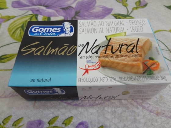 Salmão ao Natural Gomes da Costa