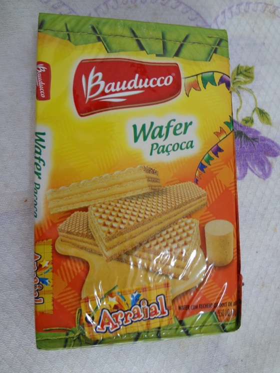 Wafer Bauducco Paçoca