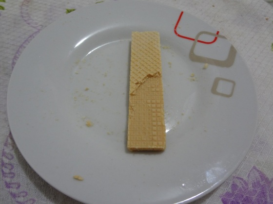 Wafer Paçoca Bauducco