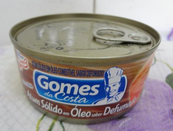 atum sólido defumado Gomes da Costa