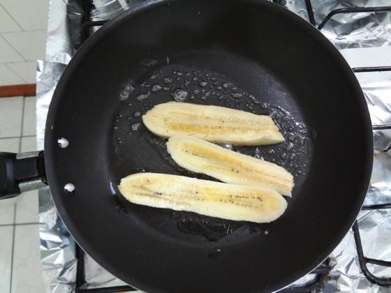 Banana Frita com Açúcar e Canela