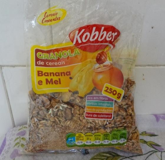 Granola banana e mel Kobber