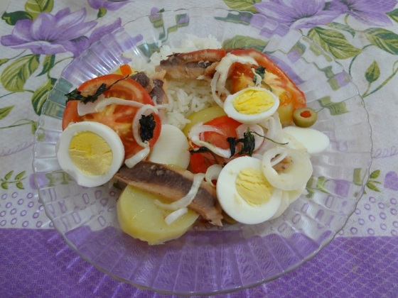 Bacalhoada de sardinha