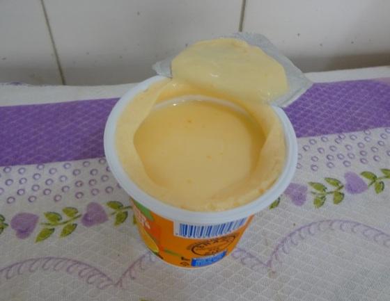 iogurte laranja, mel e cenoura