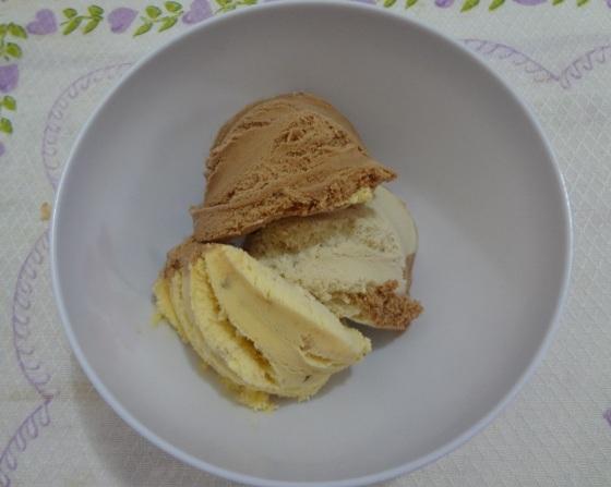 Sorvete Kibon 3 seleções Nuts