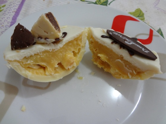 ovo ouro branco mini dona deôla