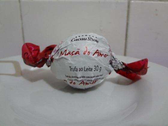 Trufa Maçã do Amor - Cacau Show