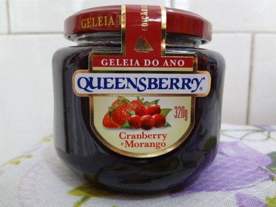 Geléia de Cranberry e Morango - Queensberry