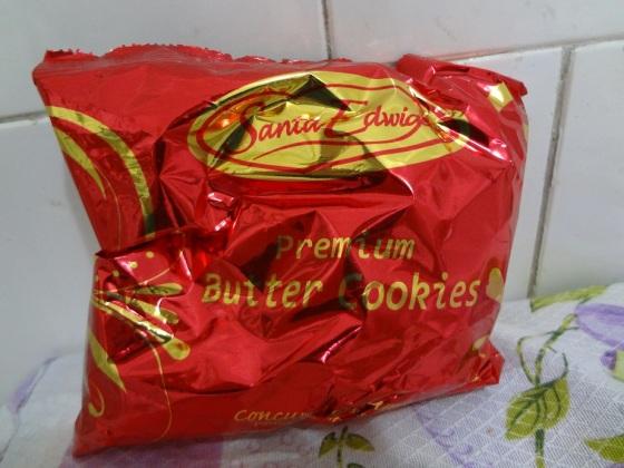 mini butter cookies Santa Edwiges