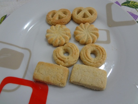 mini butter cookies