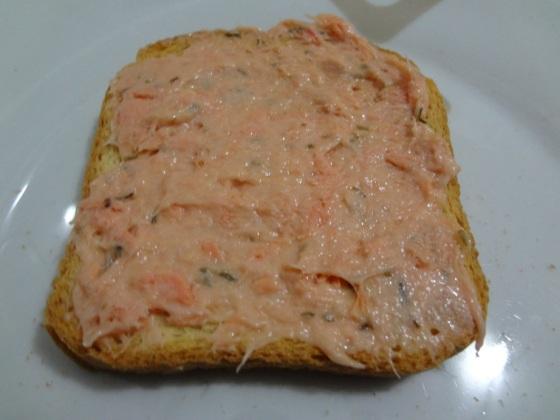 patê de salmão defumado