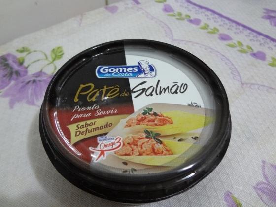 patê de salmão sabor defumado