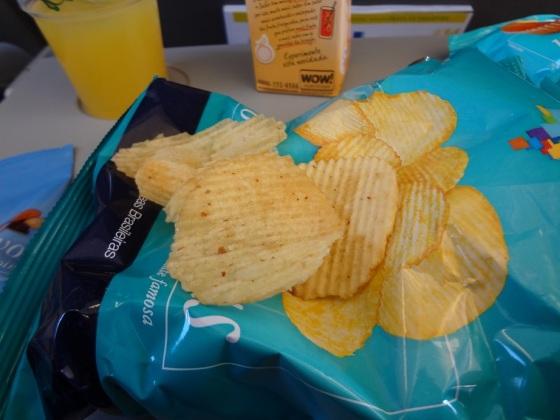 snacks azul linhas aéreas