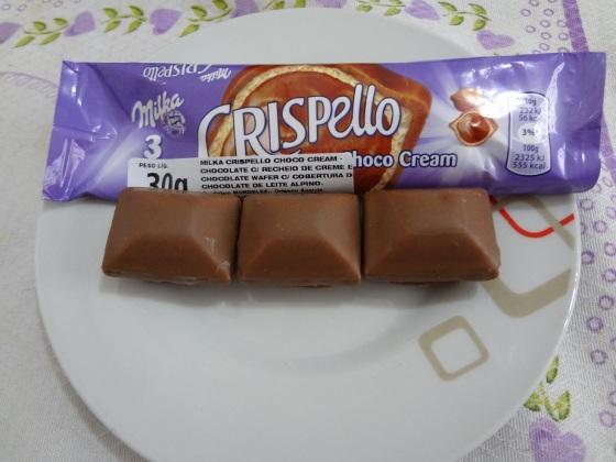 Milka Crispello Choko Cream