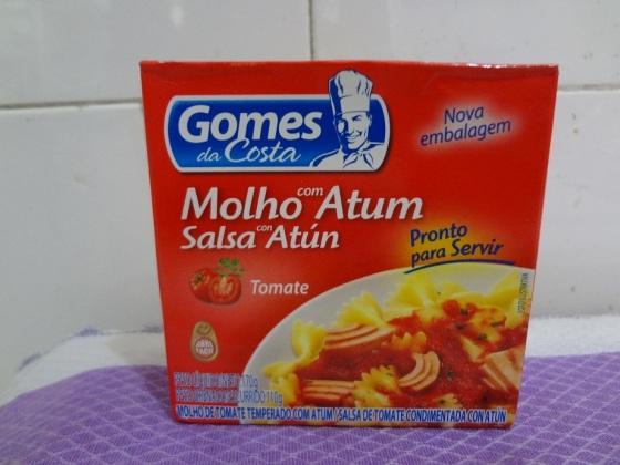 Molho com Atum Tomate - Gomes da Costa
