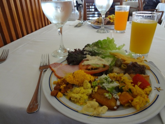 Almoço Iberostar Praia do Forte