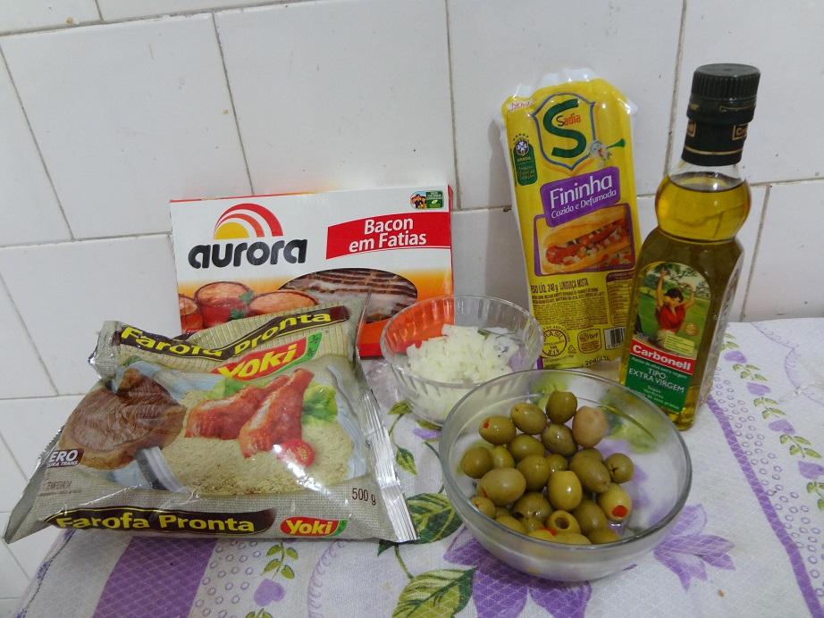 Resultado de imagem para farofa incrementada ingredientes