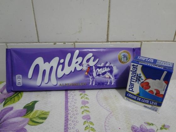 Fondue de Milka