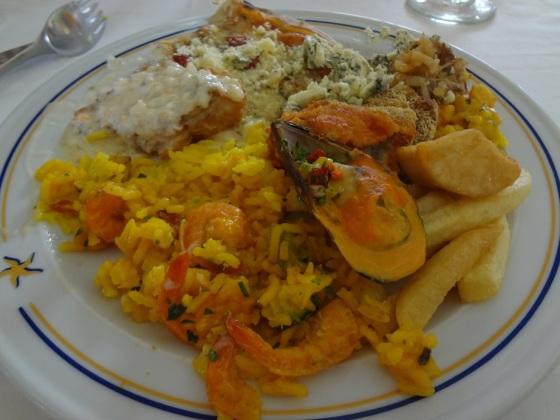 jantar Iberostar Praia do Forte