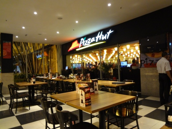 Rodízio pizza hut