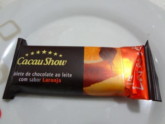 Tablete Laranja Cacau Show
