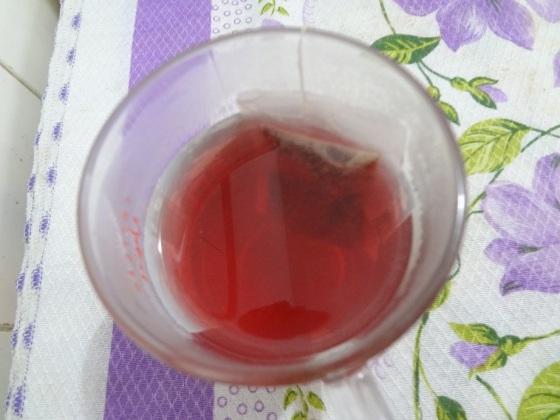 chá leão fuze morango