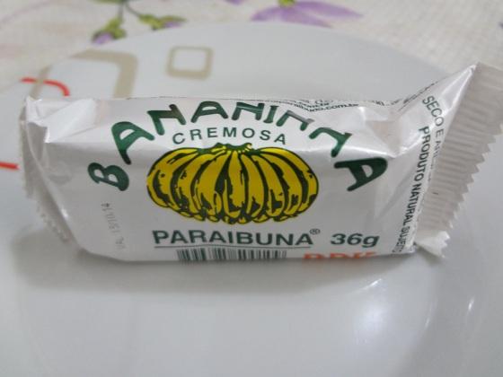 bananinha cremosa paraibuna
