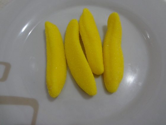 fini gelatinas bananas