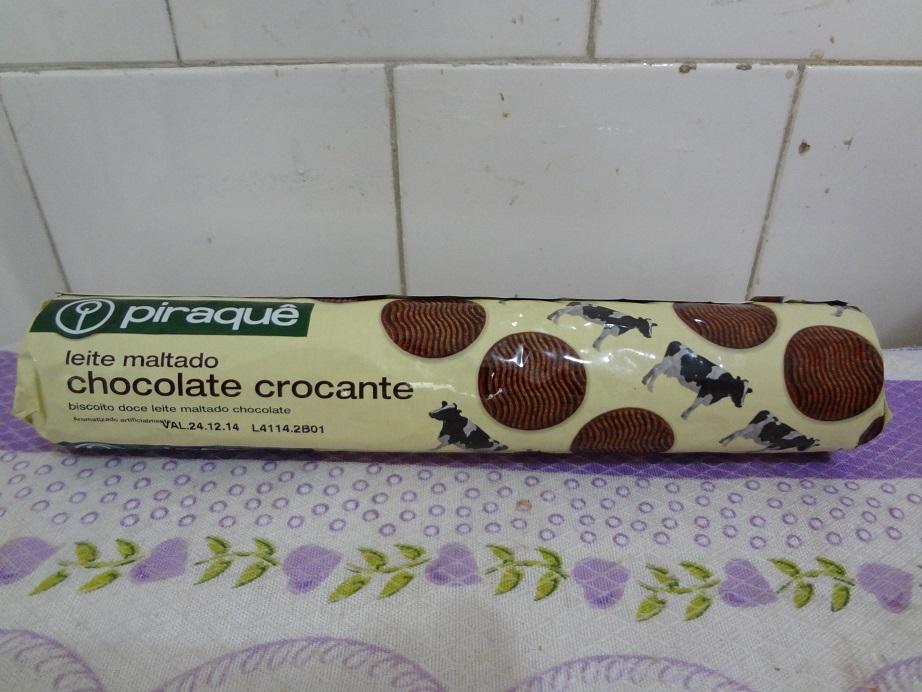 Piraquê leite maltado chocolate crocante