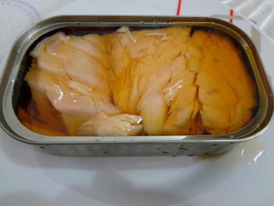salmão em azeite gomes da costa