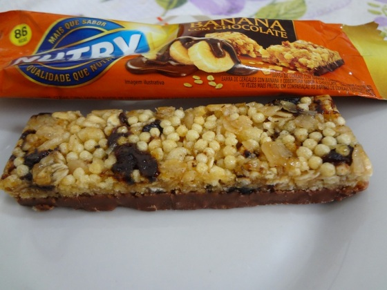 Barra de cereal banana com chocolate - Nutry