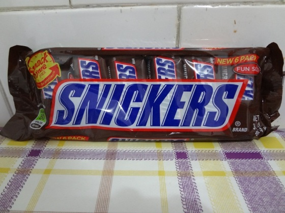 snickers 6 pack fun size