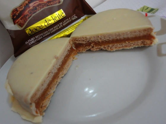 alfajor doux chocolate branco