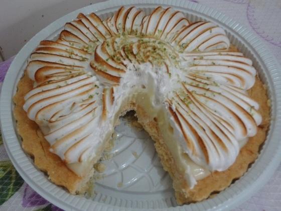 torta de limão do Hirota