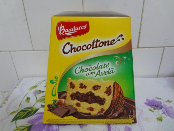 Chocottone Chocolate com Avelã - Bauducco