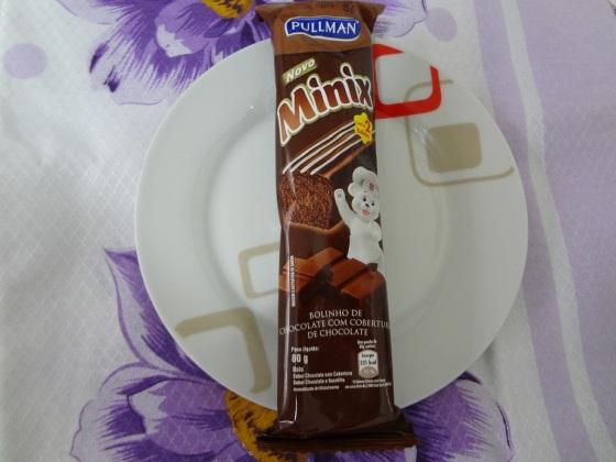 Minix Bolinho de Chocolate com Cobertura de Chocolate - Pullman